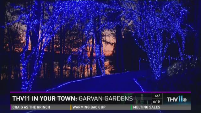 thv in your town the people behind the popular garvan gardens light display - Garvan Gardens Christmas Lights