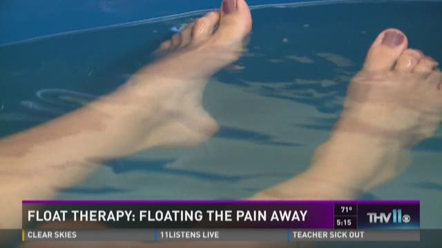 Taking a dip into Float Therapy