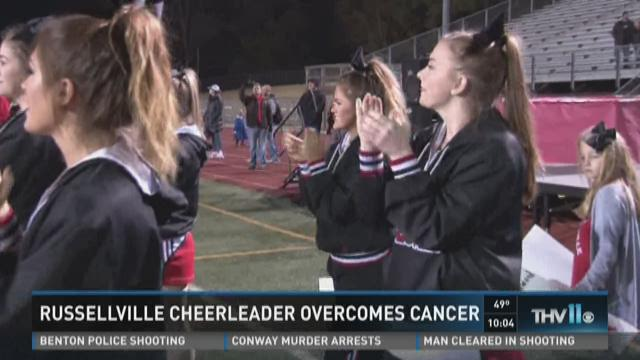 Cheerleader overcomes cancer with strength learned from cheering