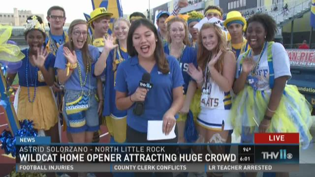 Watch Story: New stadium bringing new traffic to NLR