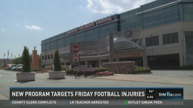 Watch Story: New clinic targets Friday football injuries