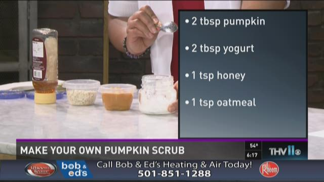Watch Interview: Pumpkin Facial Scrub