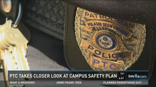 Watch Story: PTC takes closer look at campus safety plan