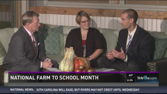Watch Interview: Celebrating National Farm to School Month